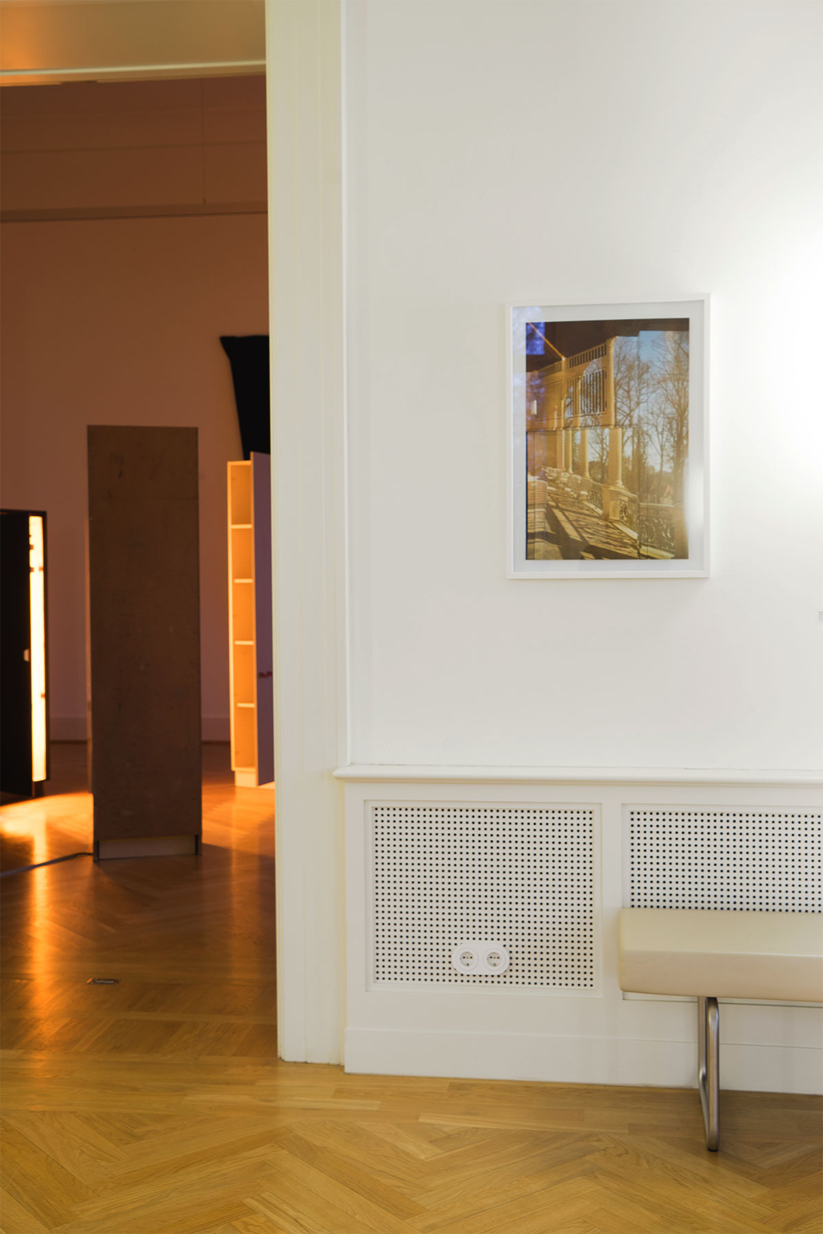 Bärbel Möllmann, Sehnsucht nach dem Jetzt. Ausstellung im Schloss Biesdorf. Raum 0.02