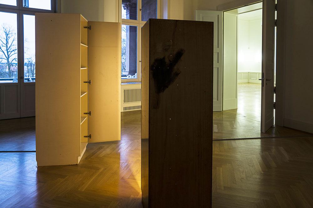 Sehnsucht nach dem Jetzt. Ausstellung im Schloss Biesdorf. Raum 0.03. Ulrike Kötz