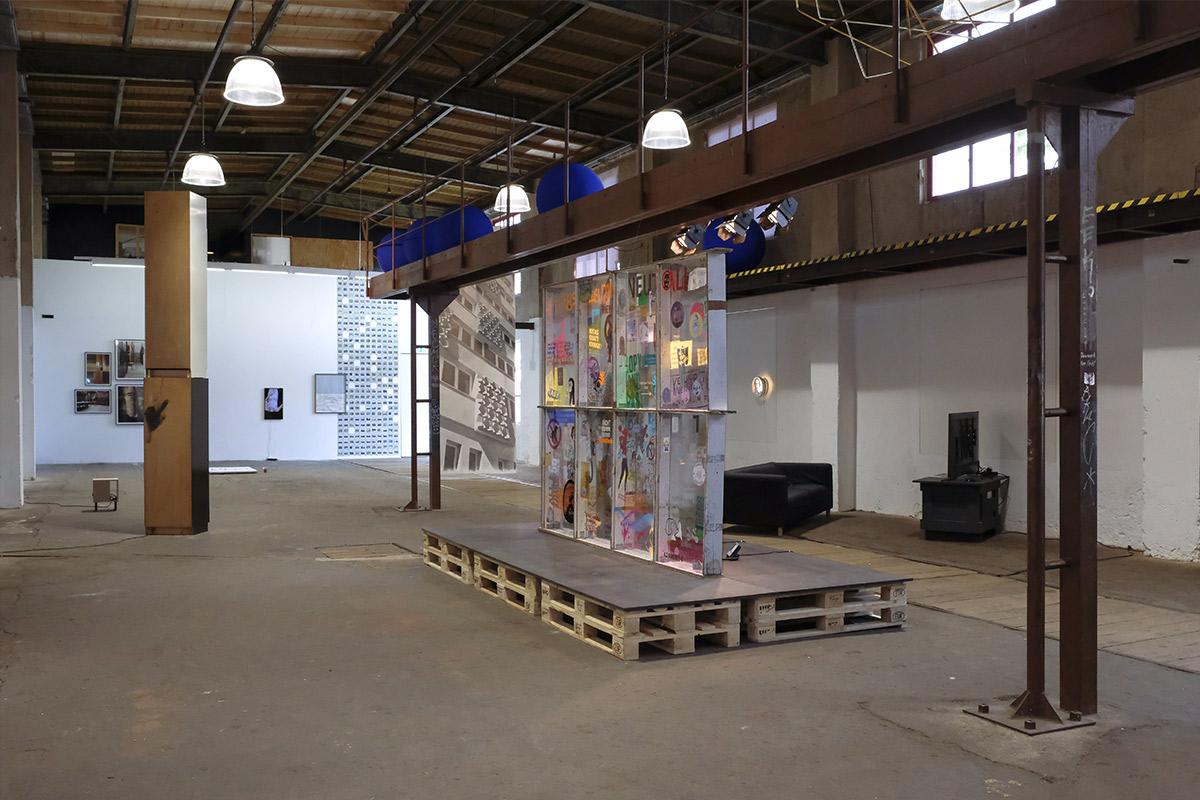 Kreuzberg bleibt unhöflich, 2018, Ausstellungsansicht, GEH8, Dresden 2020