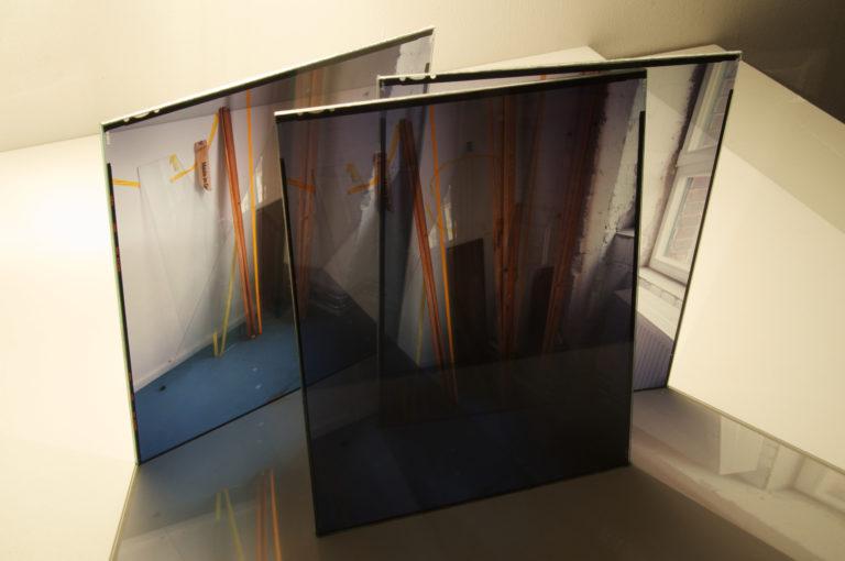 Broken Bits of Pieces III, slide object 2011, 8x10in each slide
