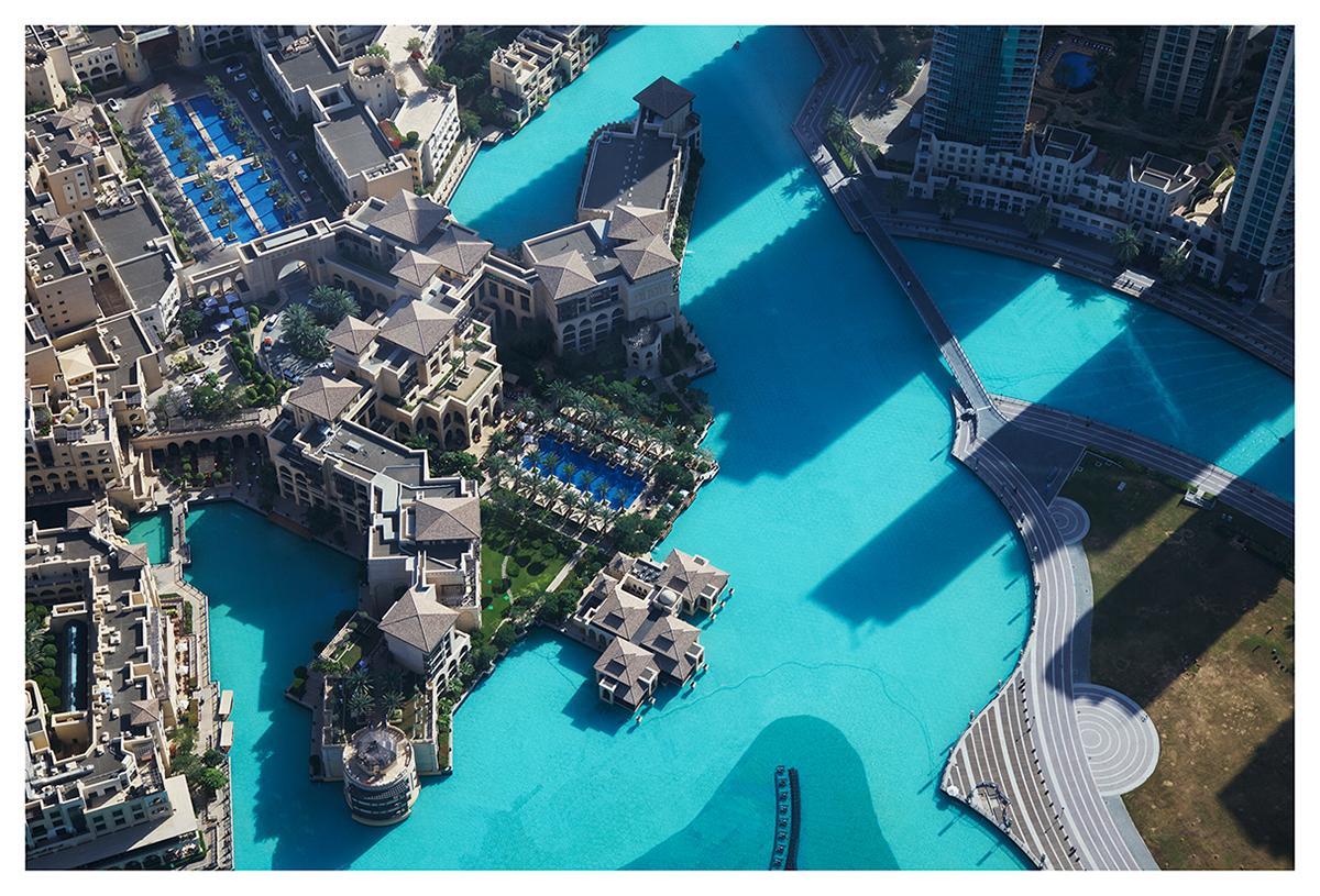 Pools in the Desert (Burj Khalifa Lake, Downtown Dubai, 2013)