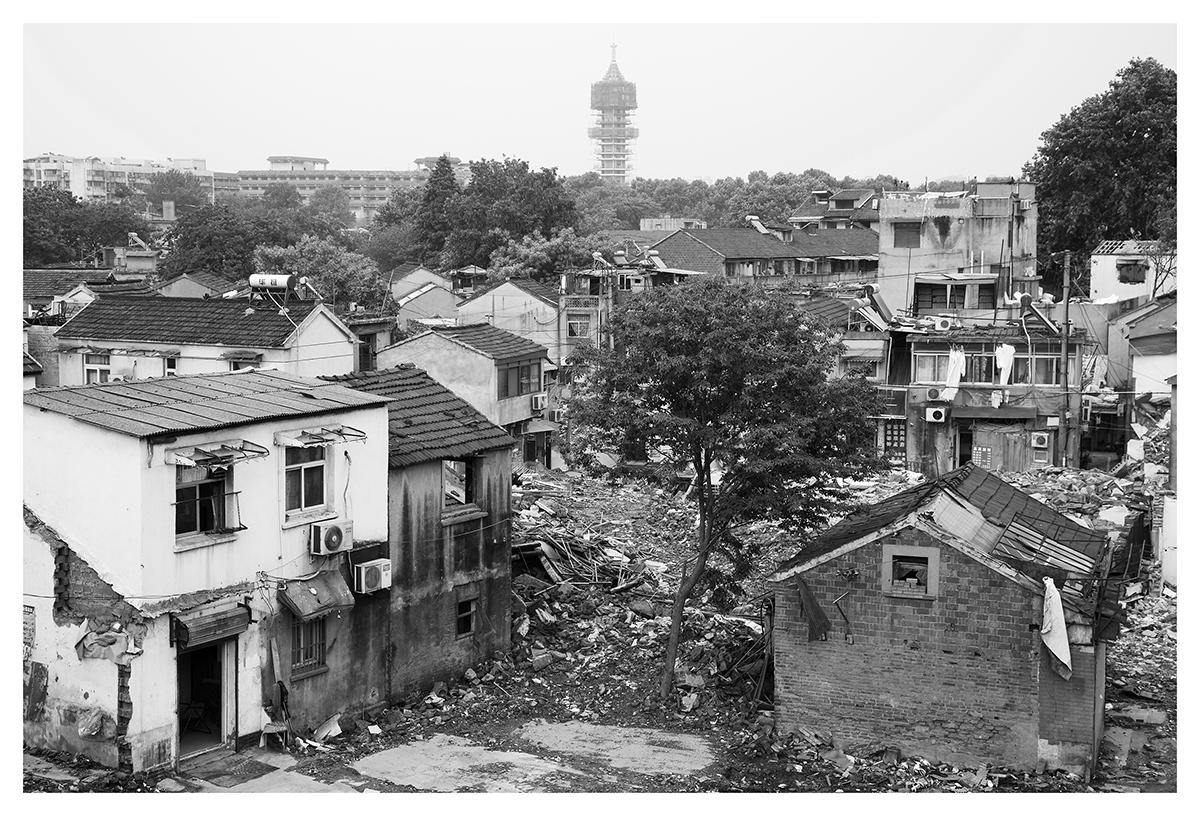 A Neighborhood for a Reconstruction (Porcelain Pagoda, Nanjing, China, 2014)