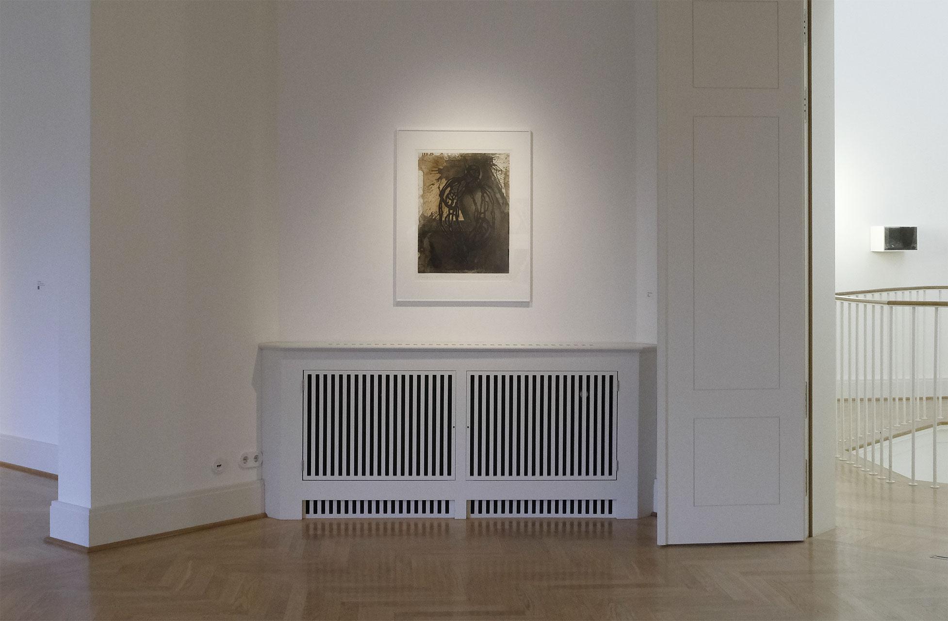 Sehnsucht nach dem Jetzt. Ausstellung im Schloss Biesdorf. Raum 1.11 Michael Morgner.