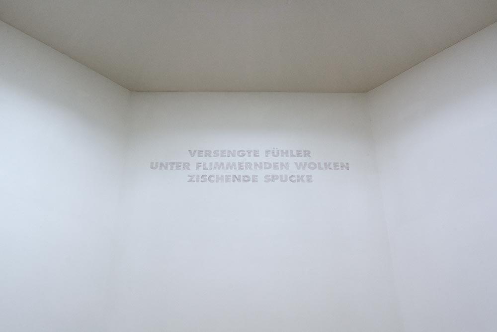 Axel Töpfer und Jo Preußler, Sehnsucht nach dem Jetzt. Ausstellung im Schloss Biesdorf. Raum 1.05