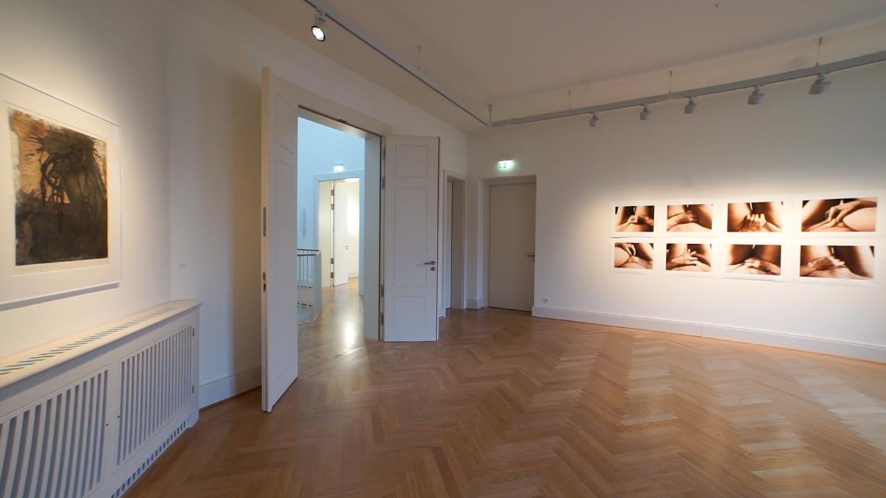 Sehnsucht nach dem Jetzt. Ausstellung im Schloss Biesdorf. Raum 1.11, Renate Herter und Michael Morgner.