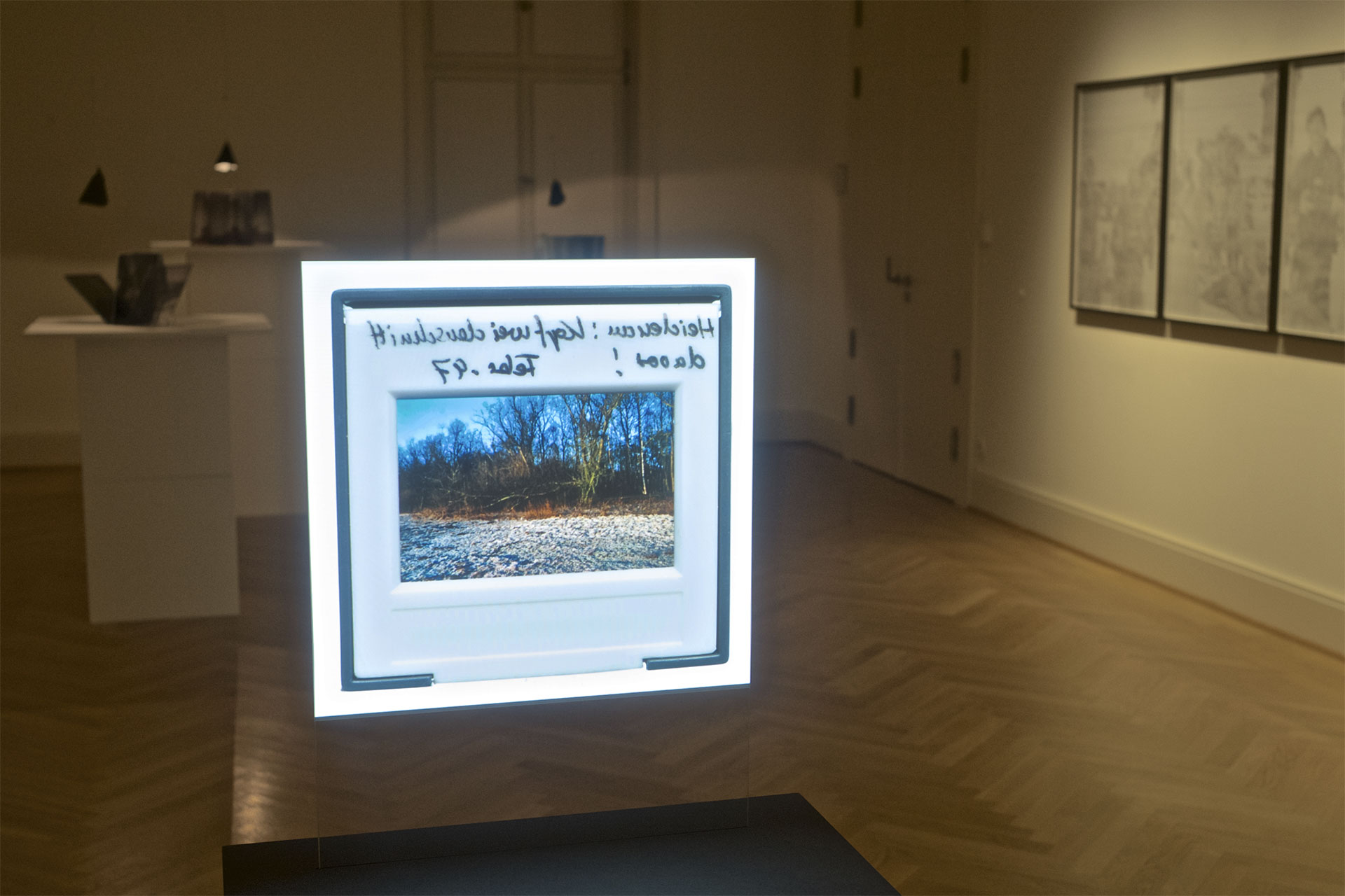 Sehnsucht nach dem Jetzt. Ausstellung im Schloss Biesdorf. Raum 1.06
