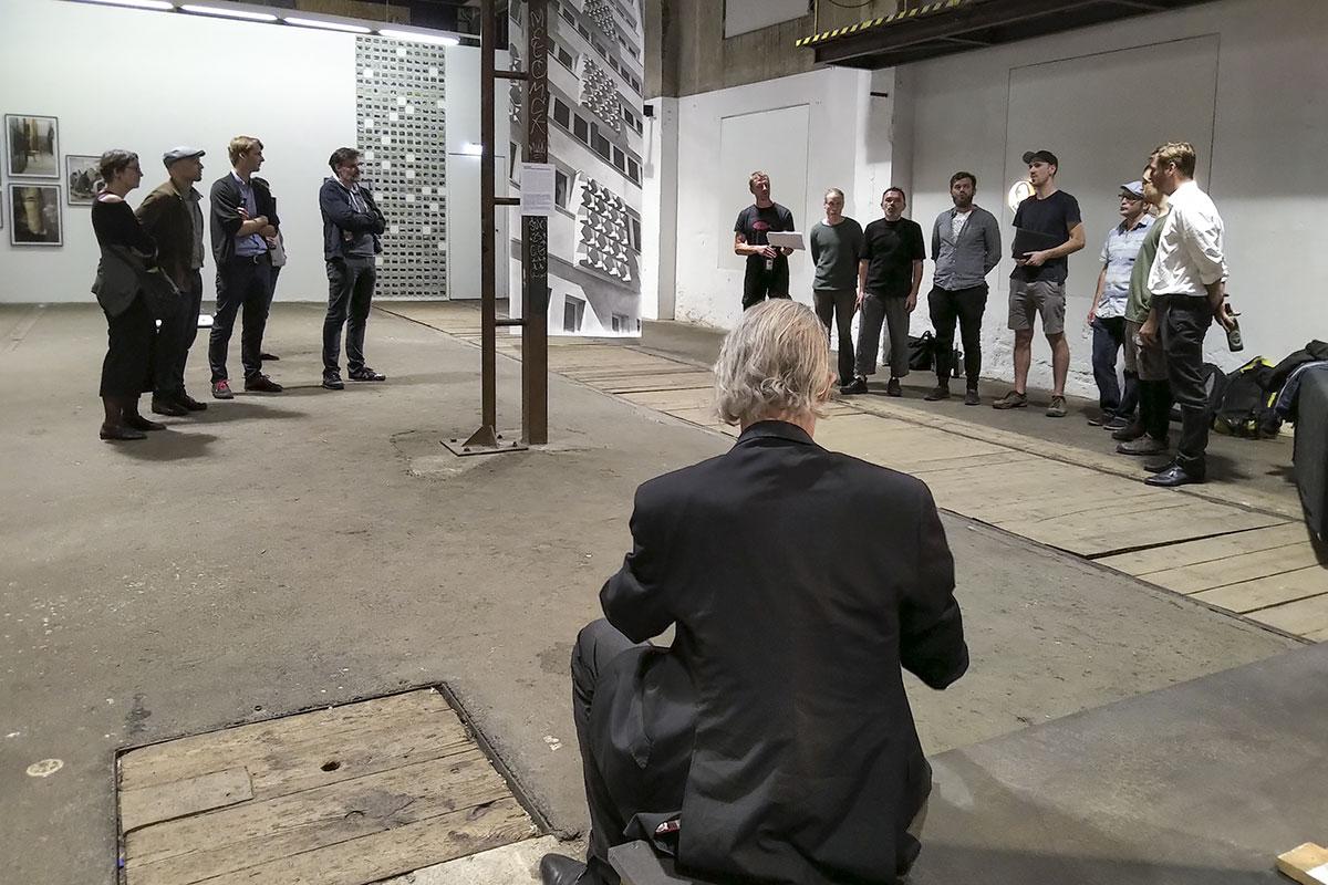 Sehnsucht nach dem Jetzt, Ausstellungsansicht, GEH8, Dresden 2020